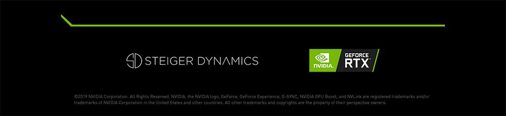 STEIGER DYNAMICS PCs with NVIDIA GeForce RTX 2060