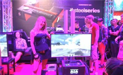Gamescom 2013 with COUCHMASTER, STEIGER DYNAMICS LEET and Fnatic!