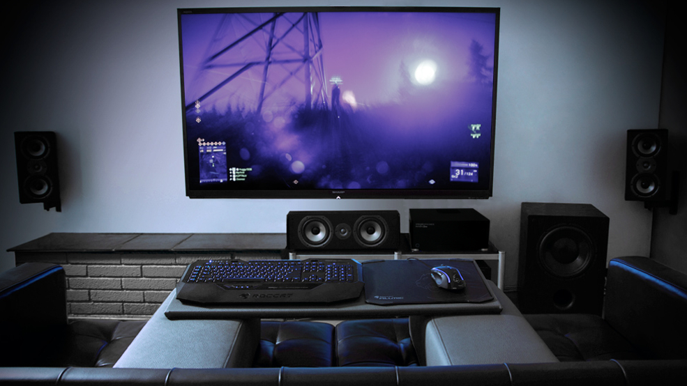 STEIGER DYNAMICS MAVEN Features Highend Gaming 48k UltraHD Gorgeous Living Room Pc Gaming