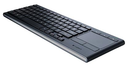 Logitech K830 StrongWireless Strong Illuminated Keyboard With Touchpad